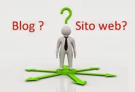 Blog o sito web